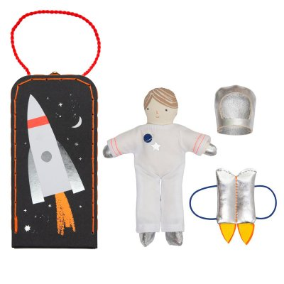 Sam's House Mini Astronaut Suitcase by Meri Meri
