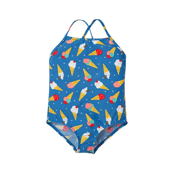Frugi coral swimsuit