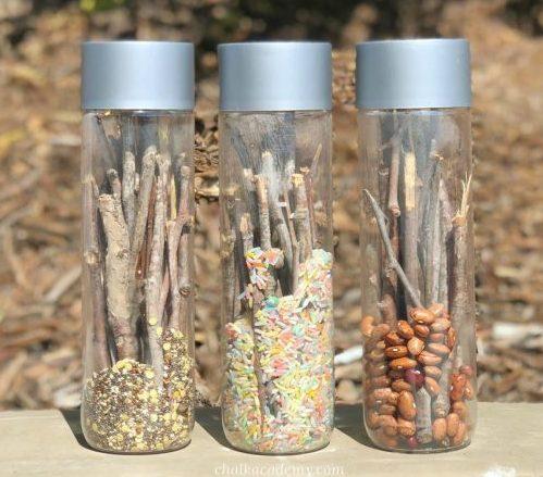 Sustainable sensory bottles