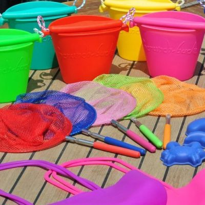 Scrunch beach toys