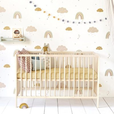 Hibou Home Rainbows wallpaper