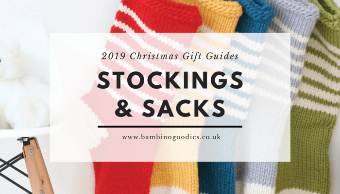 The BG Christmas Gift Guide 2019: Stockings & Sacks