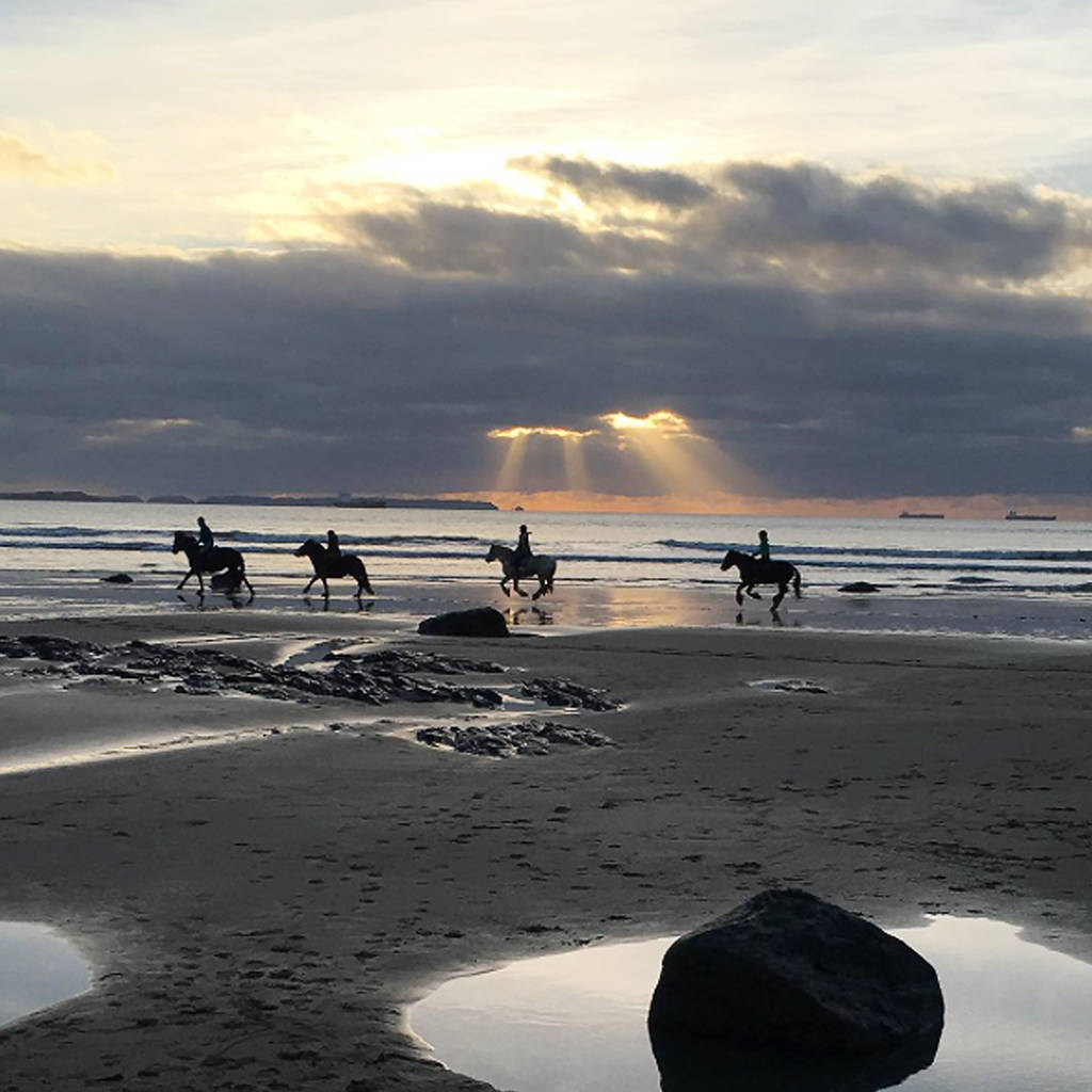 Beach Horse Riding Experience, £84pp, Nolton Stables (Cornwall)