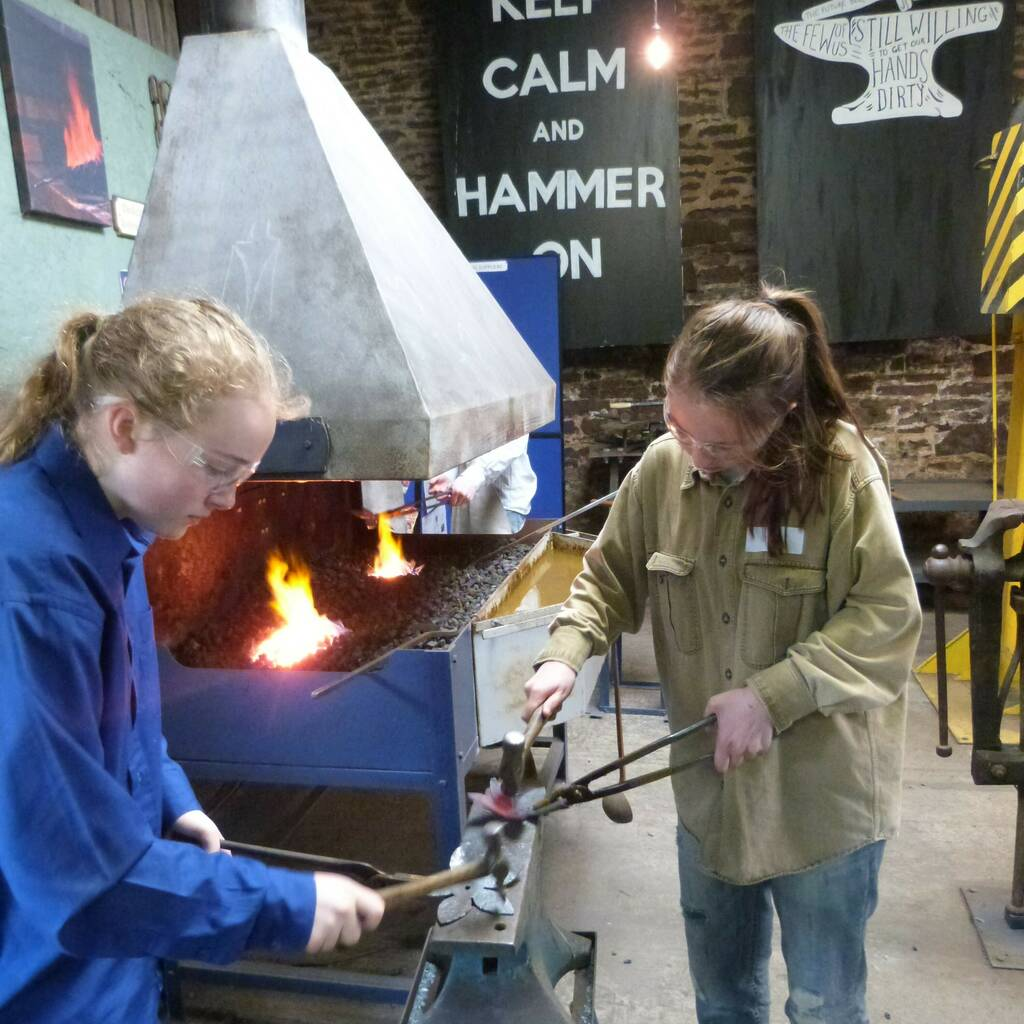 Become A Young Blacksmith, £85pp, Oldfield Forge (Herefordshire)