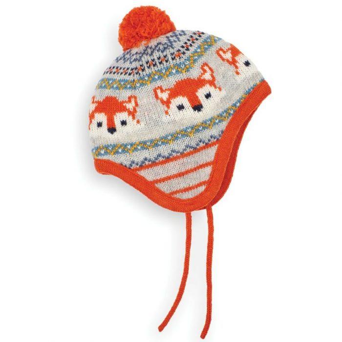 Grey Fox Fair Isle Hat, £12, Jojo Maman Bebe
