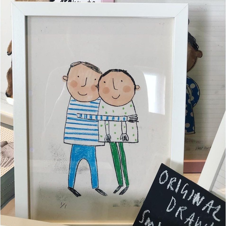Family Portraits, £50, Lisa Stickley.