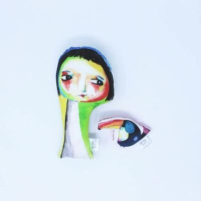 Juno & Cornelius Soft Doll Toys, £22, Fat Hen & Flo.