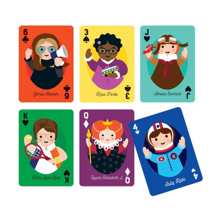 Little Feminist Playing Cards, £9.95, Mudpuppy.