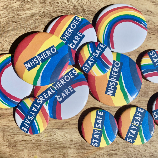 Rainbow badges