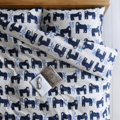 Covetable: New Anorak gorilla bedlinen