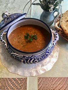 Chorba is a delicious and healthy soup from Tunisia.