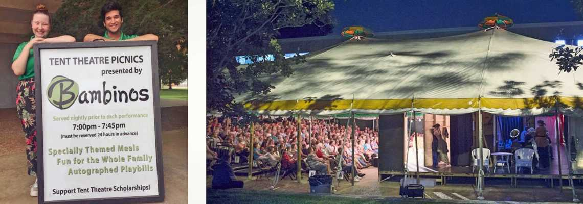 MSU Tent Theatre Picnics From Bambinos Catering in Springfield Missouri