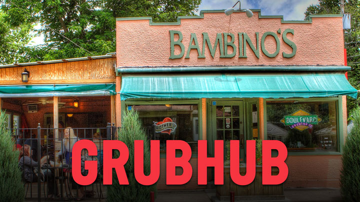 Get Bambinos delivered from the Delmar location using GrubHub