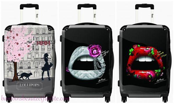 Exceptionnel Ikase des valises personnalisé ou de créateurs! #17 UQ94