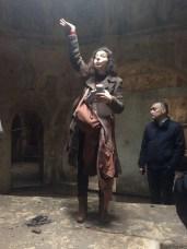 Mira Minkara and her megaphone
