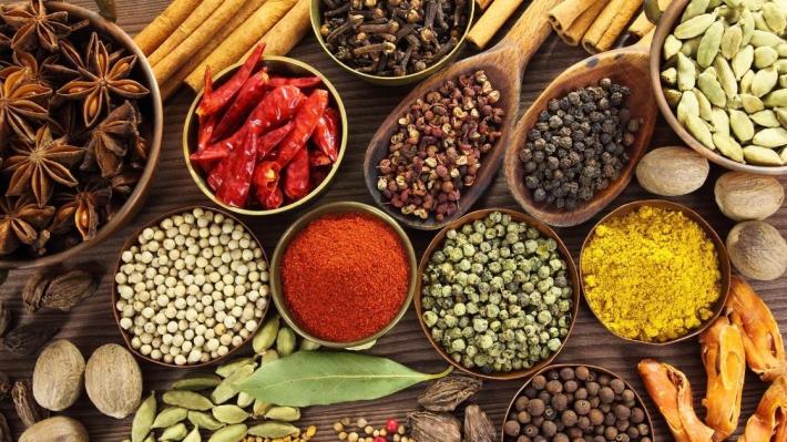 alimentazione sostenibile spezie
