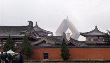 2009 PEK XIY halb 0697 - Der Famen Tempel bei Xi'an