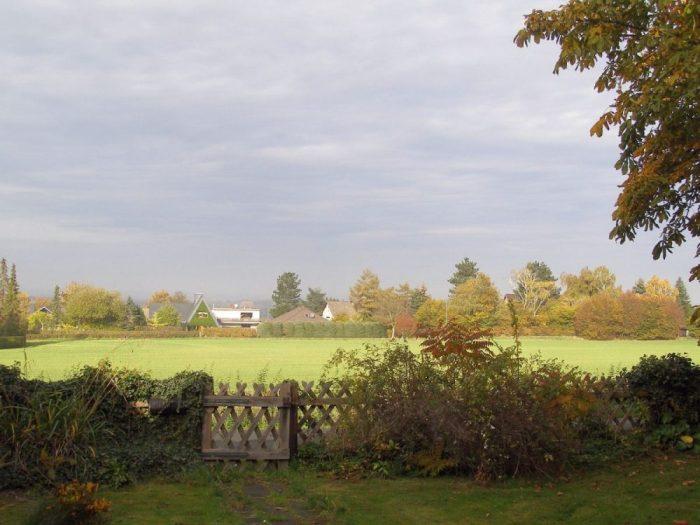 Blick auf die Norddeutsche Tiefebene