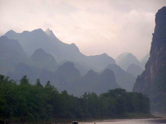 Li-Fluss bei Yangshuo 2011