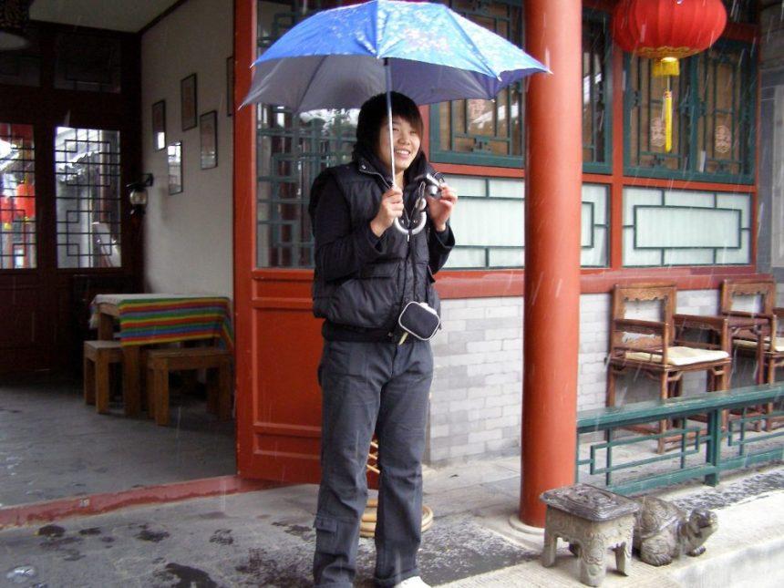Kalt: Im Hostel in Peking