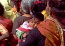 Delhi Frauentag Baby