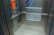 Aufzug an der Horner Rennbahn