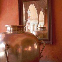 Jaipur Palast Silbergefaess