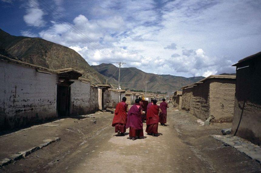 Labrang Kloster: Tibetische Mönche