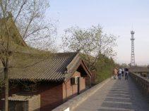 Wehrmauer des Shuanglin Tempel