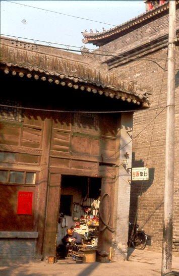 Ales Gebäude im Muslimviertel