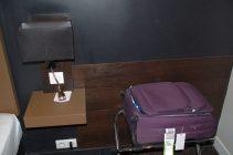 Platz für den Koffer