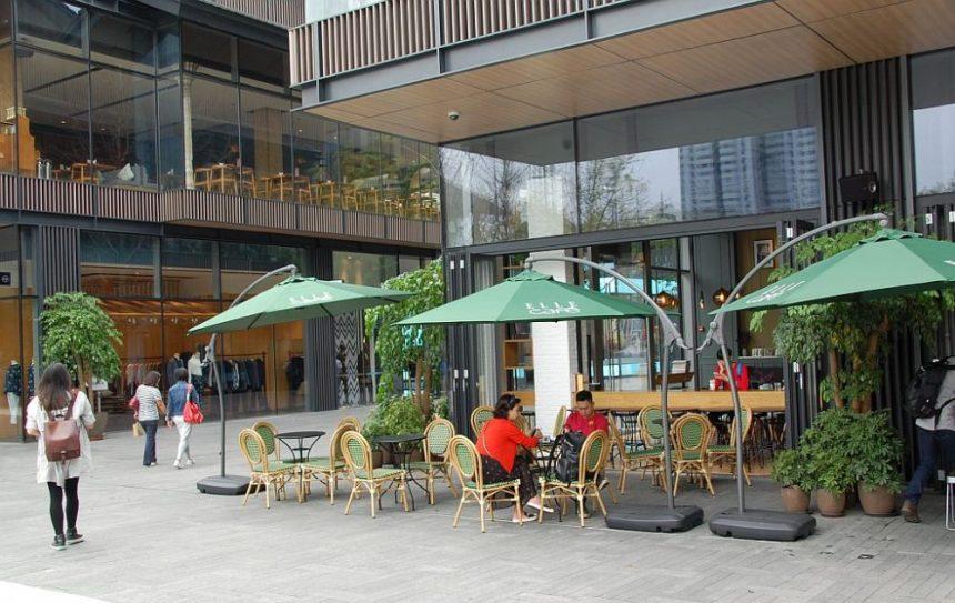 Café in der Daci Mall