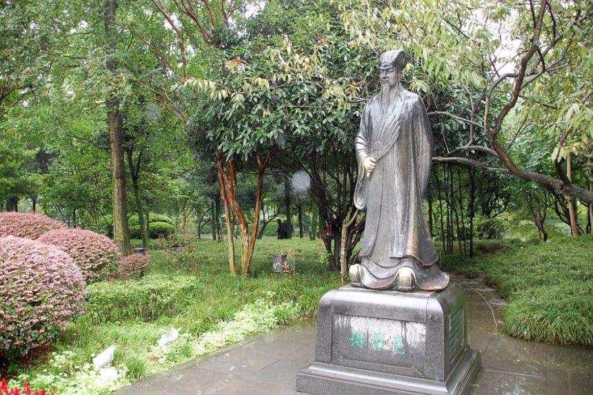 Statue von Zhuge Liang
