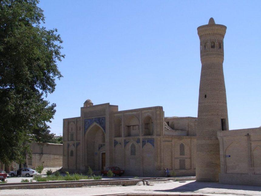 Moschee Kalan in Buchara mit Minarett