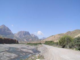 Pamir Highway Kirgistan