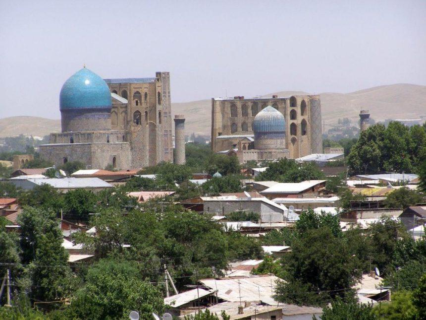 Blick auf Samarkand