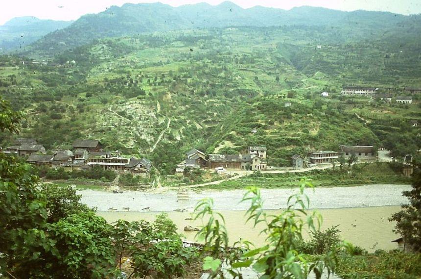 Südchina 1993 - unterwegs