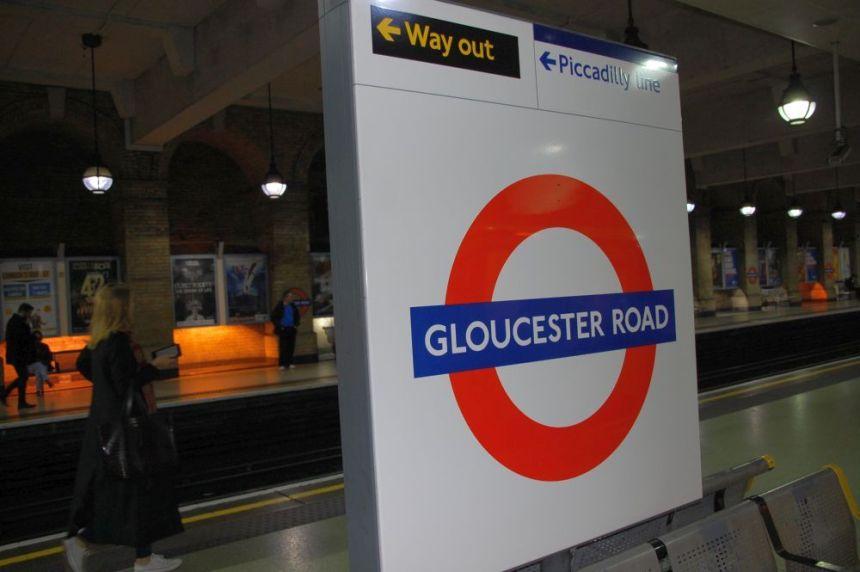 London U-Bahn Station