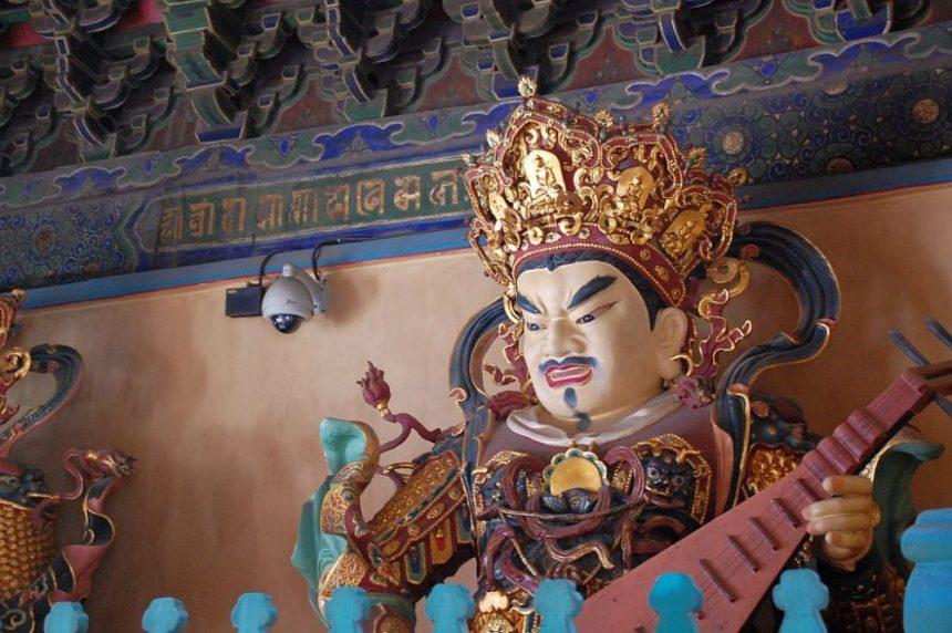 Himmelswächter im Lama-Tempel