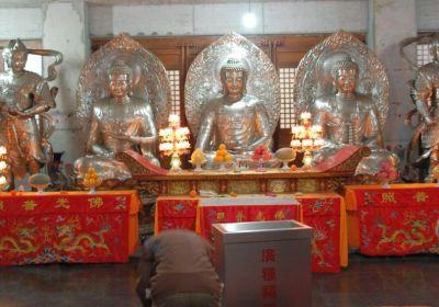SHA 2 Jingan Silberbuddhas - Letzter Tag in Shanghai : Tempel