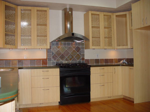 Showroom Bamboo Cabinets