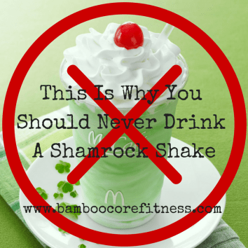 This is why you should never drink a Shamrock Shake