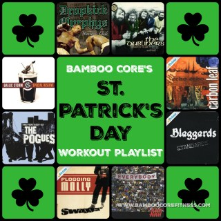 St. Patrick's Day Workout Playlist
