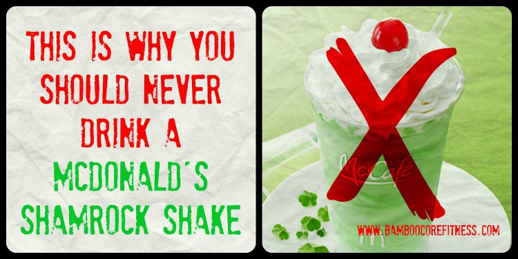This is why you should never drink a McDonald's Shamrock Shake