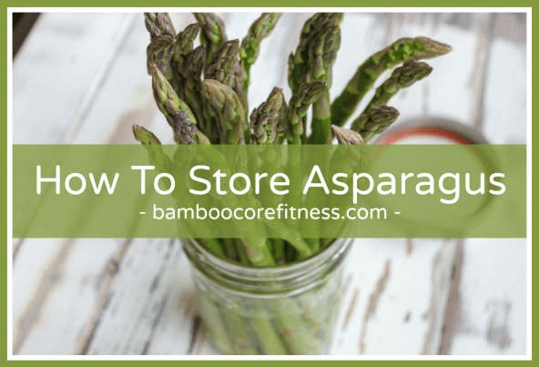How to store asparagus