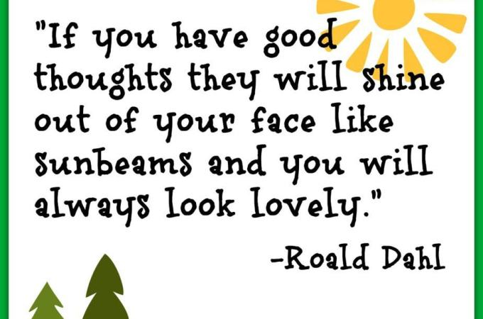 Have Good Thoughts – Look Lovely