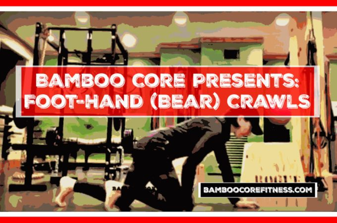 Foot-Hand Bear Crawl Exercise