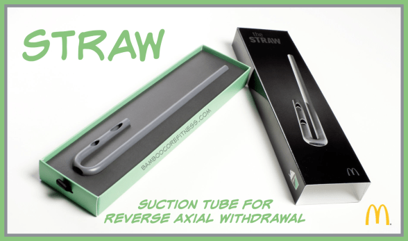 STRAW - Suction Tube For Reverse Axial Withdrawal