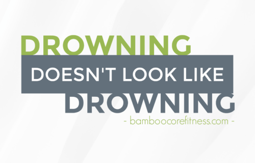 Drowning doesn't look like drowning