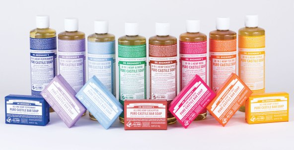 Dr. Bronner's products do not contain Disodium EDTA
